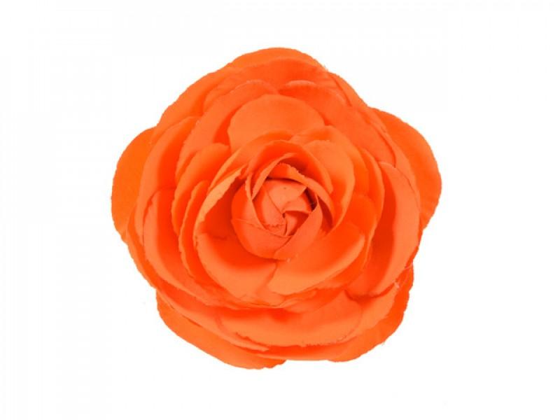 bloem corsage pioenroos oranje
