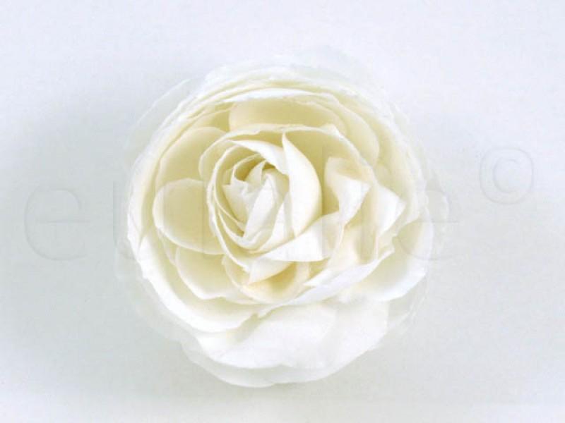 bloem corsage pioenroos wit