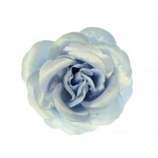 bloem corsage roos licht grijs