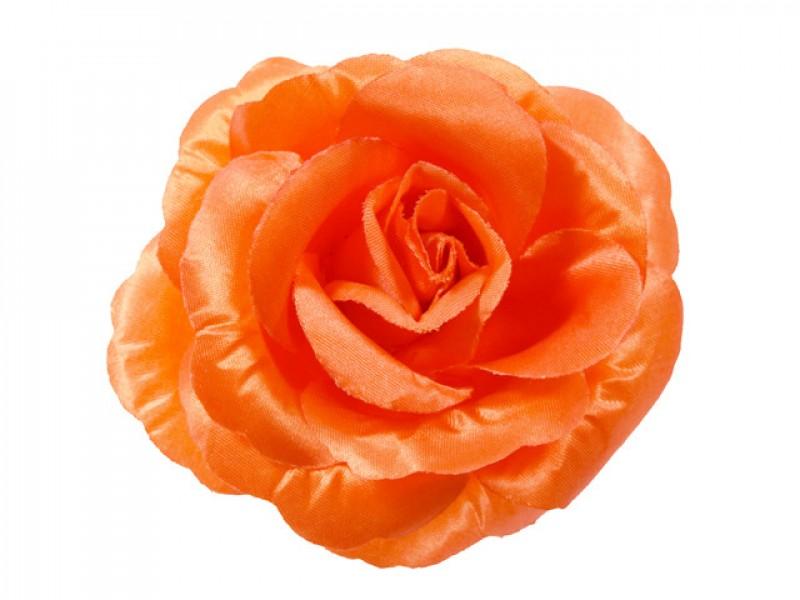 bloem corsage roos oranje