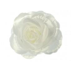 bloem corsage roos wit