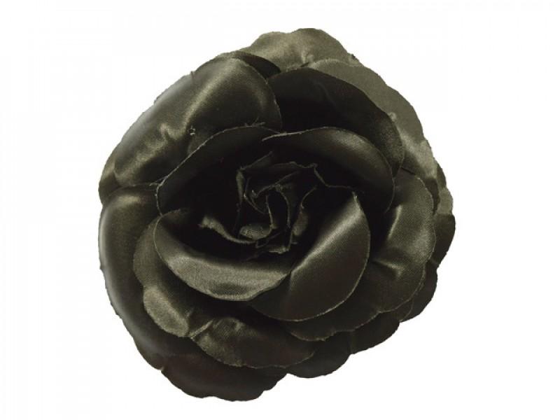 bloem corsage roos zwart