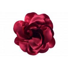 bloem corsage satijn glans rood