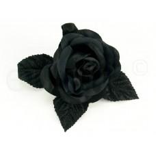 bloem corsage zwart
