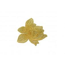 bloem patch goud