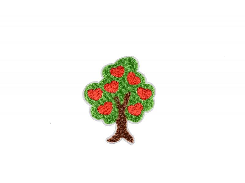 boom met hartjes patch