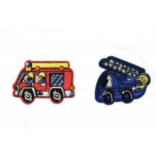 brandweerauto patch set 2 stuks