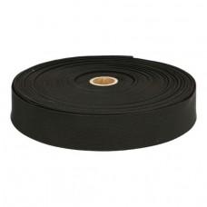 boxershort, pyama elastiek 25mm zwart per meter