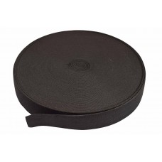 breed elastiek 4 cm zwart per meter