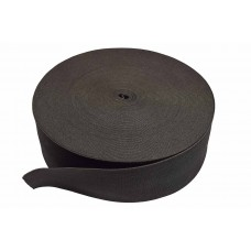 breed elastiek 8 cm zwart per meter
