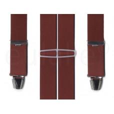 bretel 4 clips breed bordeaux standaard clips
