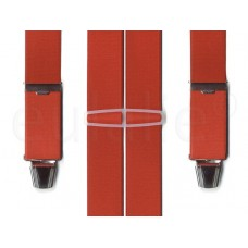 bretel 4 clips breed rood standaard clips