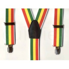 bretel Jamaicaanse vlag brede clips