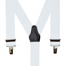 bretel 3 clips wit 35 mm breed 120 cm lang