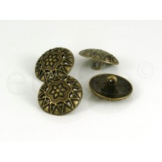 bronzen bolvormige knoop