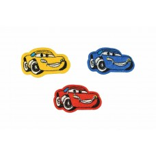 cars patch set 3 kleuren