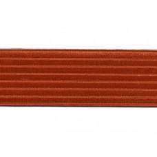 ceintuur elastiek oranje 6 cm