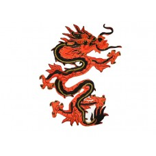 chinese draak rood rechts