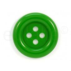 Clown knoop groen 7 cm