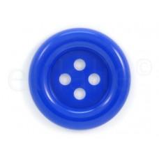 Clown knoop kobaltblauw 7 cm