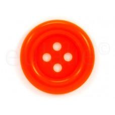 Clown knoop oranje 7 cm
