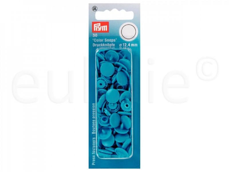 Color Snaps drukknoop licht blauw