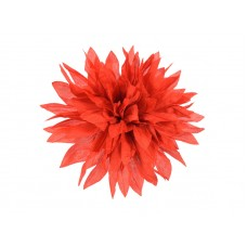 corsage chinees rood dahlia
