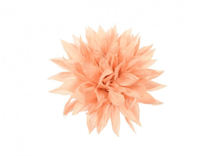 corsage koraal roze dahlia