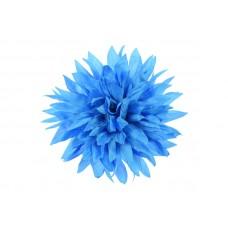 corsage levendig blauw dahlia