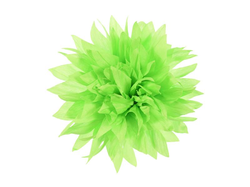 corsage neon groen dahlia