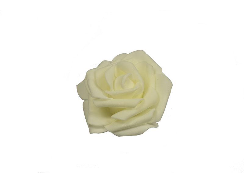 corsage witte roos met haarklem