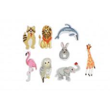 dieren applicatie set 8 stuks