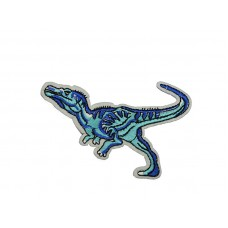 dinosaurus applicatie blauw