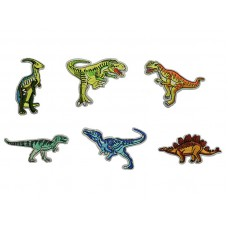 dinosaurus applicatie set 6 soorten