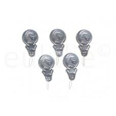 draaddoorstekers (5 stuks)