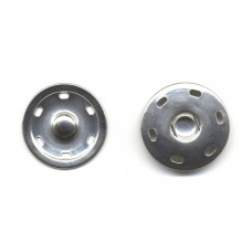 drukkers opnaaibaar zilver 3 cm