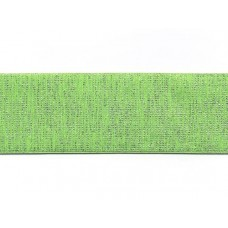 elastiek 6 cm breed lurex fluor groen