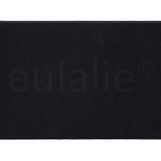 elastiek breed elastisch in lengte en breedte 5 cm zwart per 10 cm