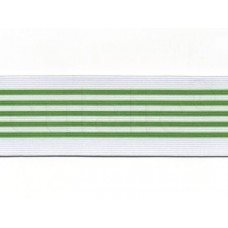 elastiek groene streep 6 cm