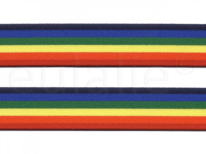 elastiek kleuren 3 cm