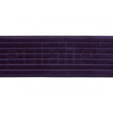 elastiek satijn paars 6 cm