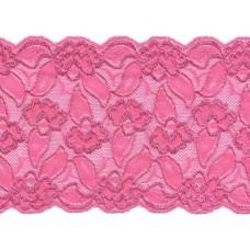 elastisch kant 15 cm hard roze