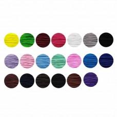 elastisch koord 0.8 mm bundel 26 meter keuze uit 24 kleuren