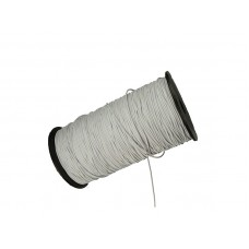 elastisch koord 3 mm wit rol 50 meter