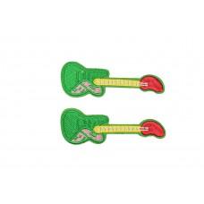 elektrische gitaar patch groen 2 stuks