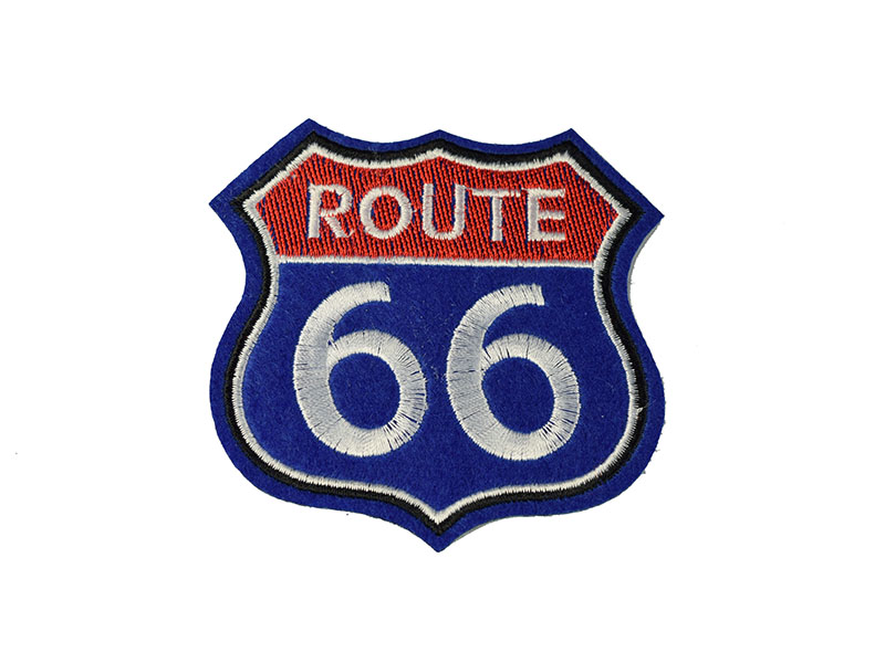 embleem applicatie route 66 groot