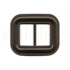 gesp leatherlook bruin