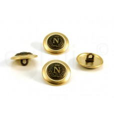 goud brons knoop N 1.8cm