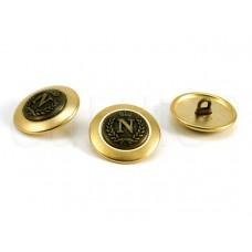 goud brons knoop N 2.3cm