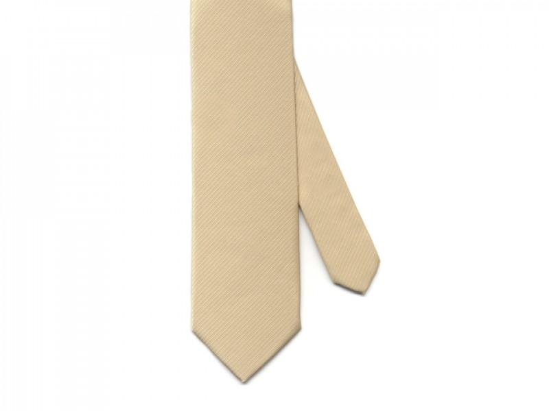 goudkleurige stropdas
